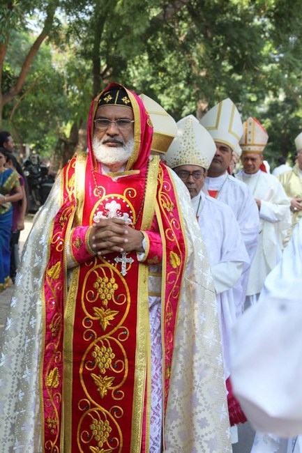 16.Bishops and Abps during procession