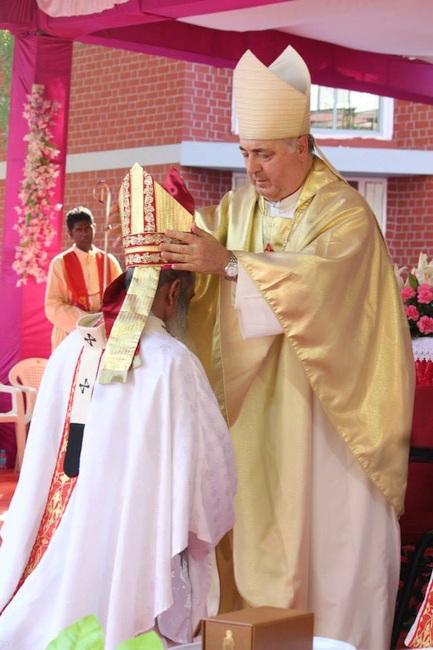 23.Bishop Thomas being elavated as Archbishop