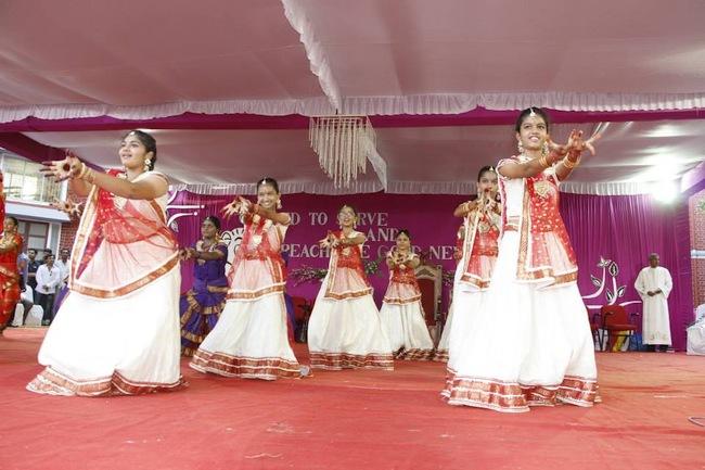 40.Dance afeter the ceremony by Mount Carmel students Gandhinagar